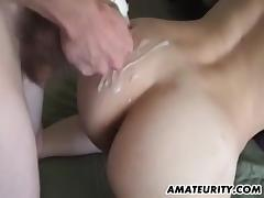 Sexy Amateur Babe Gets A Big Cumshot In Her Hot Ass