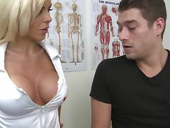 Delightful Xander Corvus And Nina Elle Go Hardcore In A Hospital
