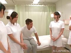 Amazing Japanese Nurses Have Group Sex In A Hospital