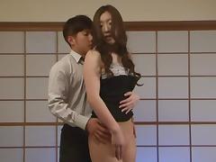 Amazing hot milf Erika Takashita enjoys a cock ride