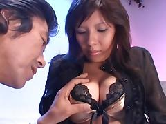 Christel Takizawa Hot Asian chick gets bukkake tube porn video