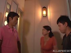 Yuuko Kuremachi naughty housewife enjoys plenty of hot fucking