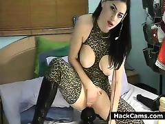 Cute Whore Takes On Huge Butt Plug tube porn video