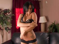 Amazing sex with the stunting brunette Jackie Daniels