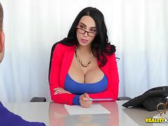 Stacked Chick with Glasses Fucked at the Office