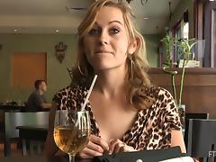 Maelynn shows off her body in public in solo clip