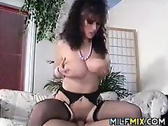 matures brunette Big boob