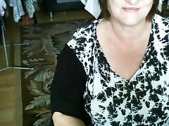My big mature tits on a webcam