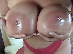 latin chick big tits n toys