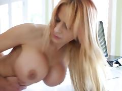 big titted milf banged from behind