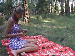 Jungle, 18 19 Teens, Cute, Lick, Outdoor, Pretty