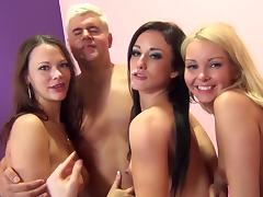 Aaliyah Love, Jennifer White, Porno Dan And Sandy Ambrosia Have Group Sex porn tube video