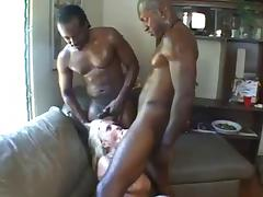 Biker, Anal, Biker, Interracial, Double Penetration