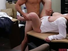Office, Amateur, Big Tits, Blowjob, Boobs, Couple