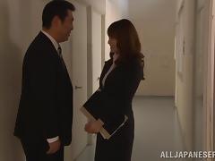Incredible Minami Hirahar Sucks A Big Cock In College