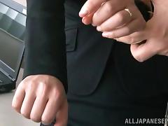 Superb hottie Kimika Ichijou enjoys office sex