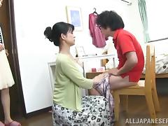 Blowjob, Asian, Blowjob, Couple, Japanese, Mature