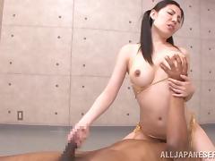 Delightful Miku Hasegawa Rides Like A Wild Cowgirl