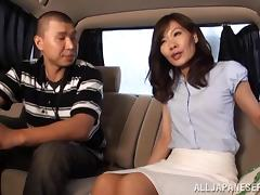 Car, Asian, Brunette, Car, Couple, Japanese