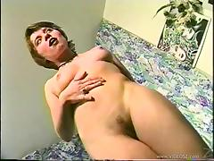 Horny Brunette Babe Gives A Yummy Handjob To An Older Guy