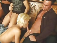 Bar, Banging, Bar, Gangbang, Group, Orgy