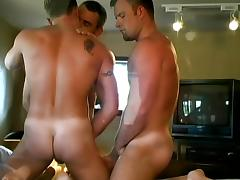 Wicked threesome for gays