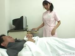 Asian Nurse Gives Her Patient A Hot Anal Exam And A Yummy Handjob tube porn video