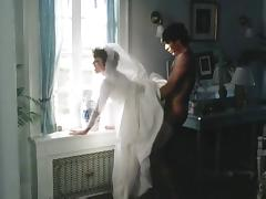 Bride, Anal, Bride, Stockings, Wedding, Vintage