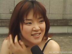 Fun Loving Japanese Hottie Fucked in Public