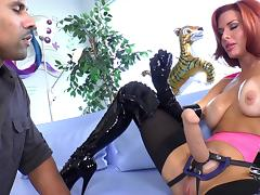 Robert Axel And Adorable Veronica Avluv Go Really Hardcore