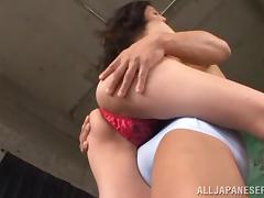 Skinny Asian Cutie Gets Hammered Hard