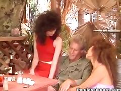 Dirty threesome in the full play tube porn video