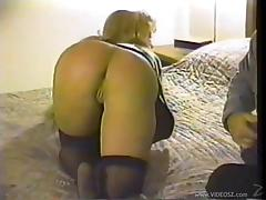Horny Amateur Blonde Gives A Hot Head And Gets Pounded