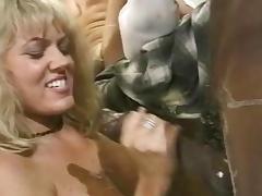 Retro scene with alluring blonde tube porn video