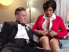 Shay Fox is fucked silly by her horny son-in-law porn tube video