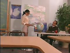 Teen In Mini Skirt Fucking Lovely With Her Teacher