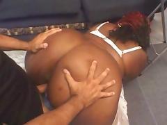 BBW anal fucked porn tube video