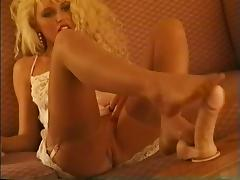 Footjobs videos. Some particularly indecent men ask their ladies to perform footjobs for them
