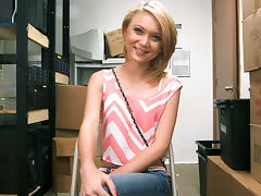 Dakota Skye Fucked In The Back Room!