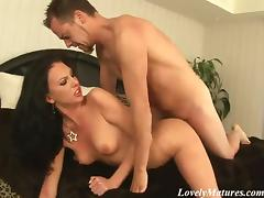 Amazing Brunette Gets Her Little Wet Hole Drilled Hard Doggystyle