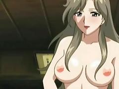 Hentai, Big Tits, Boobs, Brunette, Hentai, Riding