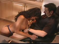 couple gets some hot action in the bedroom