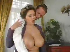 Stepmom, Aged, Big Tits, Mature, Sex, Stockings