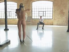 Kiara Lord licks a boner and takes a hot ride on it