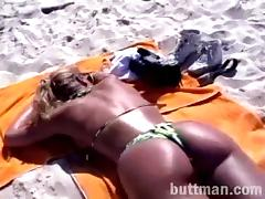 Hot Ass Blonde Gets A Yummy Asslick And Rides The Guy's Cock