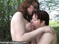 Lesbian Old and Young, Amateur, Lesbian, Mature, MILF, Nylon