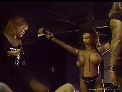 Hot Ass Doll Gets Tortured In A Femdom Sex Indoors