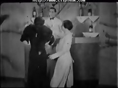 Vintage Porn 1920s Ffm Threesome Nudist Bar