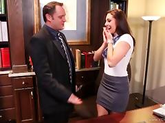 Curvy Blonde Babe Gets Her Hot Pussy Nailed Hard At The Office