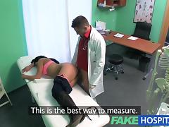 doctors cock turns patients frown upside down